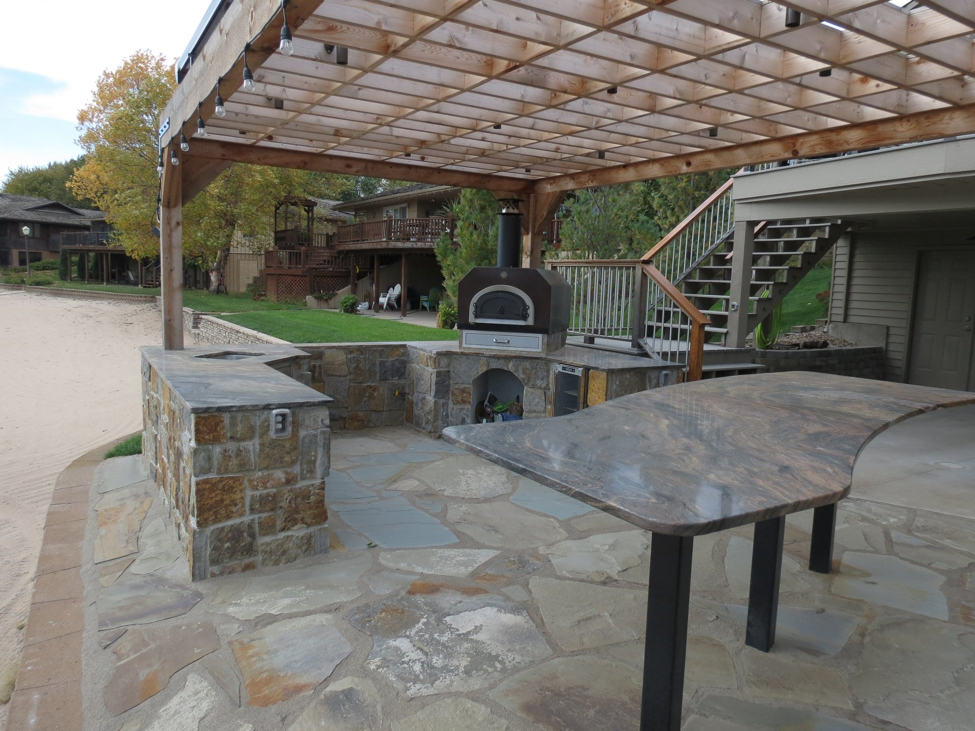 Outdoor Granite Countertops